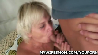 Hot Orgy With Granny And Her Son In Law