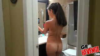 Puting Sofia To Suck My Cock Right In The Kitchen