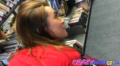 Good Ass College Chick Gets Fucked In The Library