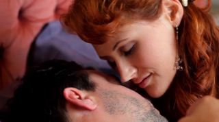 Redhead Euro Girl Pleasing A Guy