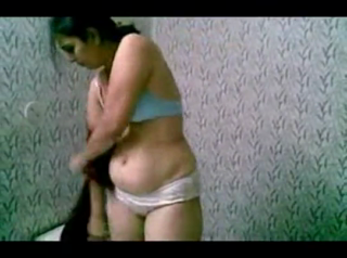desi Indian Wife Stripping Her Blouse And Bra