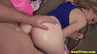 Buttfucking Girlfriend Gets Facialized - Starred