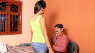 desi Desi girl enjoying with uncle in bedroom