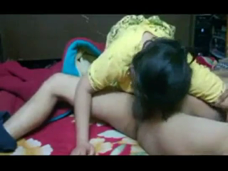 desi Indian Bhabhi with Husbands Friend