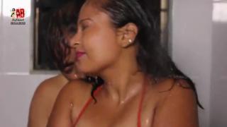 desi Desi hot bhabhi hot bathing with husband
