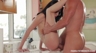 Horny Babe Enjoys Fucking With Step-Dad