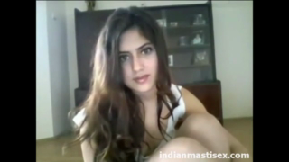 desi Cute indian teen showing assets in camera