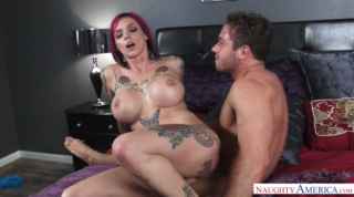 Tattooed Mom Loves Riding Young Boys Cock