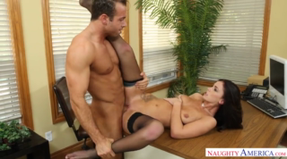 Naughty Office Sex With Horny Workmates