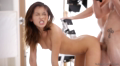 Tiny Nubile Held Firmly And Driven Insane With Cock