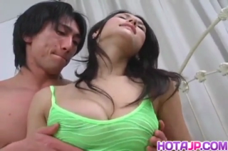 Sensual brunette, Maria Ozawa and her handsome lover decided to make a short, adult video of them