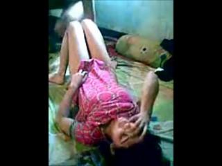 desi Indian school teacher abusing student