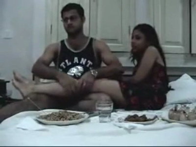 desi Indian couple selfmade honeymoon video leaked