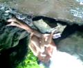 Pasangan ABG mesum ML di sungai
