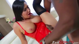Gorgeous Babe Fucked In Doggy Style