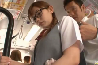 Japanese Babe Get Banged In A Public Transportation