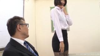 Bos ngentot sekertaris di ruang kerjanya