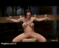 Tied Up Huge Tits Babe Whipped And Pussy Vibed