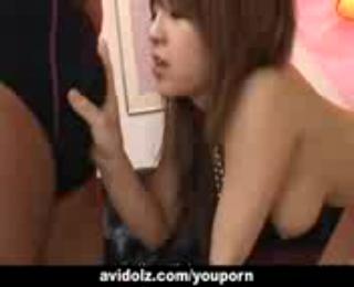Alluring Japanese gal Nanami Takase gets boned hard uncensored