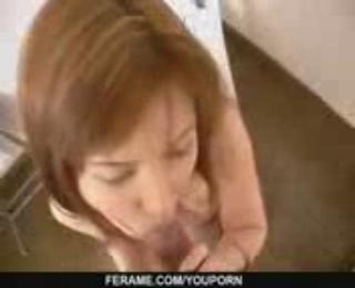 Anna Masturbates And Gives A POV Blowjob